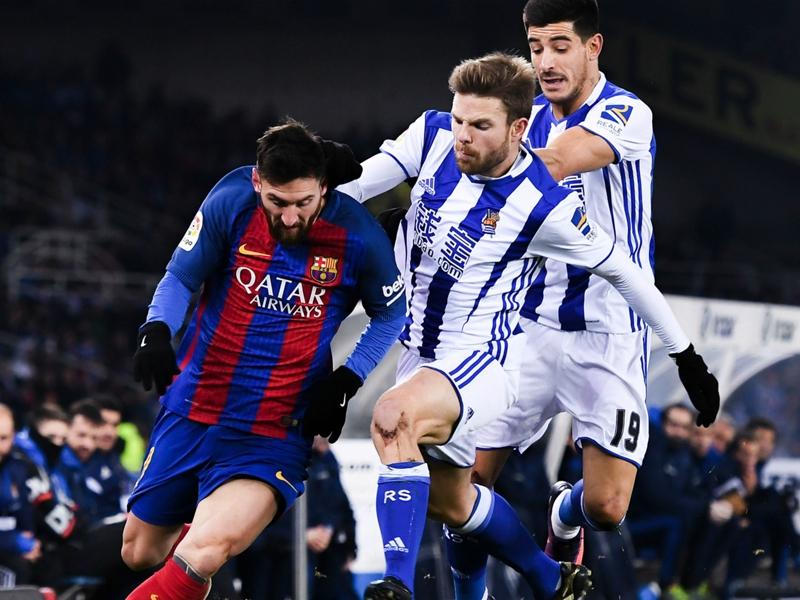 """Real Sociedad, Illaramendi : """"Si Messi portait un autre maillot, il aurait été expulsé"""""""