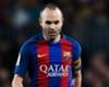 Iniesta suffers calf injury
