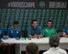 Chapecoense apresenta experiente Artur Moraes e o zagueiro Fabrício Bruno