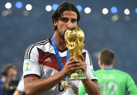 Podolski urges Khedira to join Arsenal