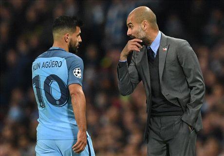 Guardiola & Aguero hold late-night talks