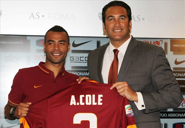 Roma signing Cole happy to get away from English press