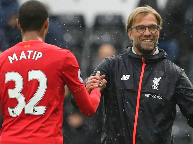TEAM NEWS: Matip and Lucas start, Brewster on the bench for Liverpool