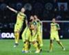 Kedah players celebrate beating JDT