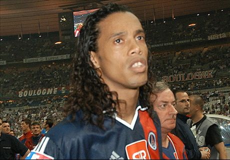 Van Ligue 1 tot superster: Ronaldinho