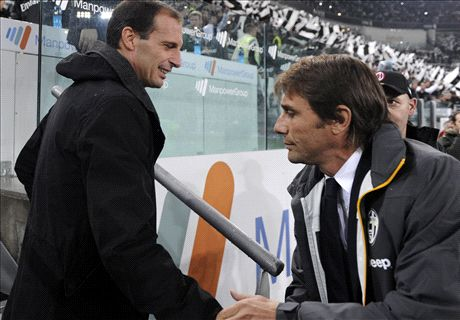 Allegri vs Conte - will Juve flop in Europe?