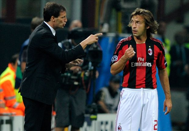 'You can't be Pirlo anymore' - how next Juventus coach Allegri forced the Italy legend out of Milan