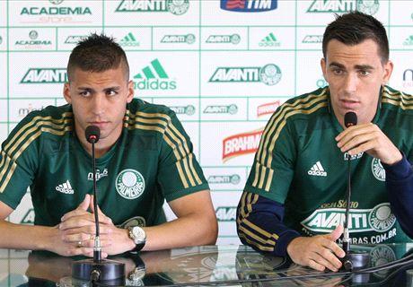 Palmeiras presentó dos argentinos
