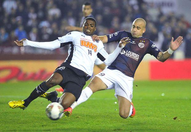 Lanús tropezó ante Atlético Mineiro en el juego de ida