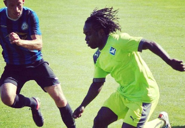 Gor Mahia striker undergoing trials with Danish side HB Koge.