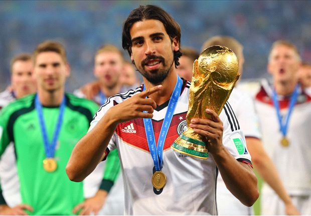 Podolski would like Khedira to sign for Arsenal