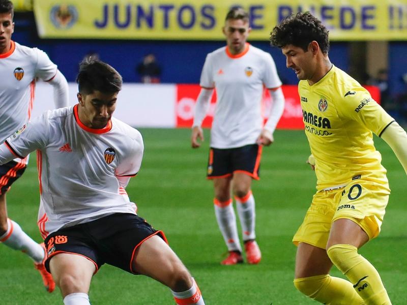 Le FC Valence se rassure dans le derby face à Villarreal