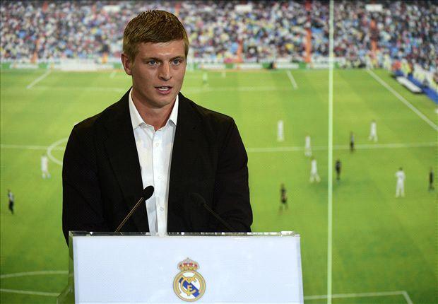 Toni Kroos, presentado el jueves como nuevo jugador del Real Madrid