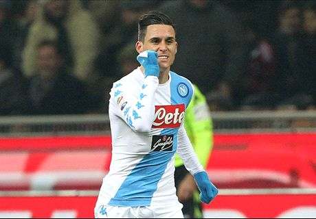 Napoli edge past Milan
