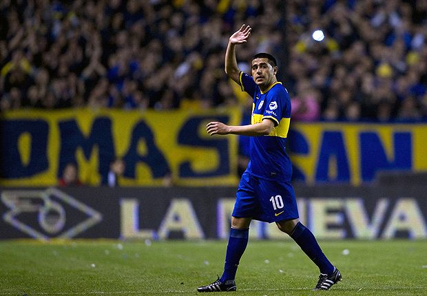 Riquelme makes Boca Juniors exit