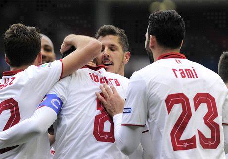 El Sevilla mantiene el pulso (3-4)