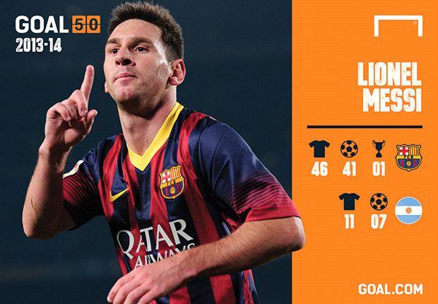 Messi volvió a formar parte del podio.