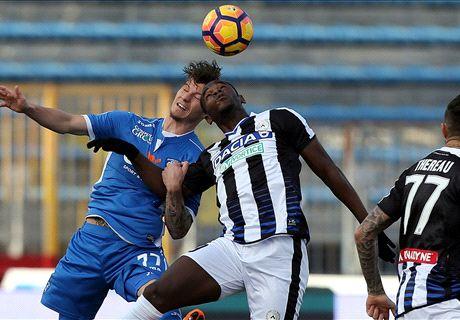 Empoli-Udinese LIVE! 0-0