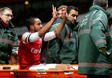 Walcott faces Sunderland fitness test