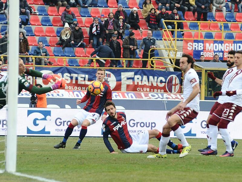 Bologna-Torino 2-0: Al Dall'Ara è il Dzemaili day