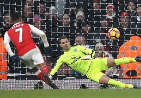 Drama Menit Akhir Warnai Kemenangan Arsenal