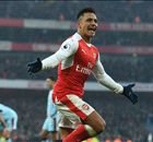 Spot on Sanchez sends Arsenal second