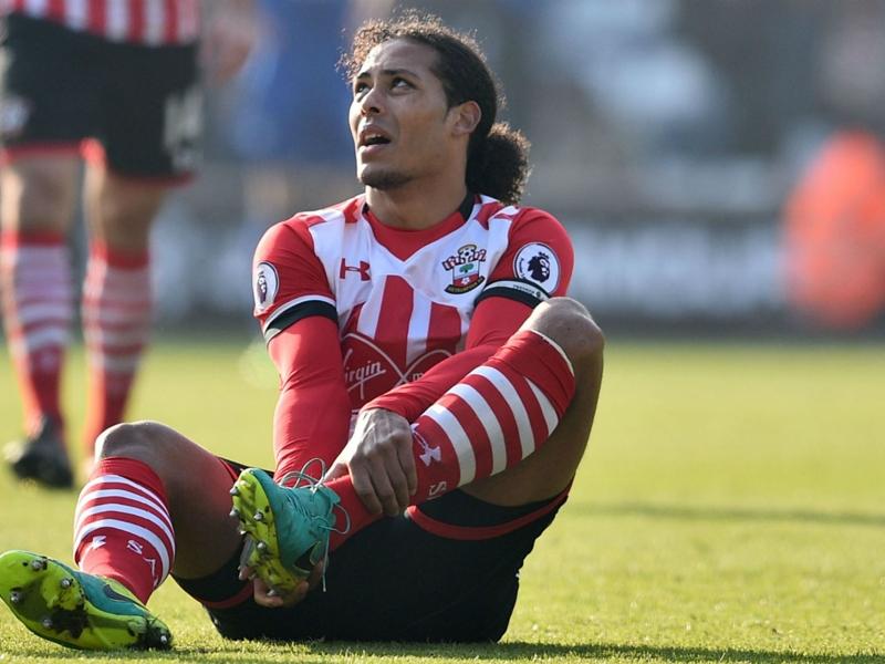 'He took a big kick' - Puel unsure whether Van Dijk will be fit for Liverpool clash