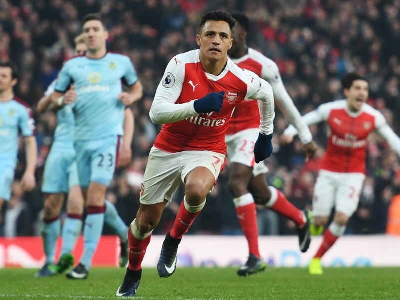 'That's why we love you Alexis!' - Arsenal fans go wild for panenka winner