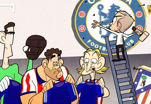José Mourinho monta en el Chelsea su particular Atlético de Madrid