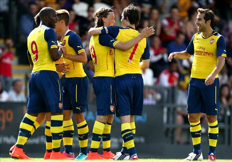 B'ham Wood 0-2 Arsenal: Easy win