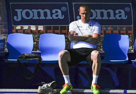 Mathieu sits out Valencia defeat