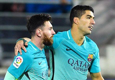 Busquets injury mars Barca victory