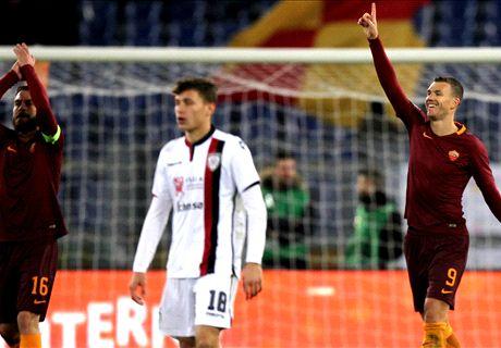 Poca Roma, Dzeko risponde alla Juve