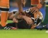Mason suffers skull fracture