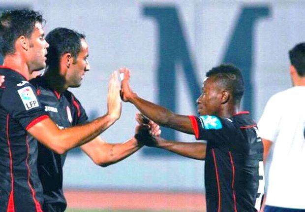 Excited Aboagye scores debut Granada goal