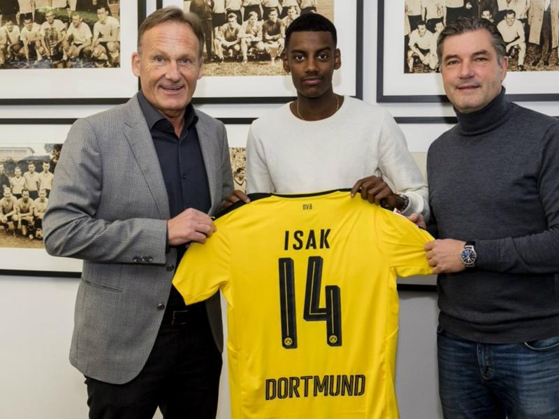 Isak's Dortmund switch lands AIK in hot water