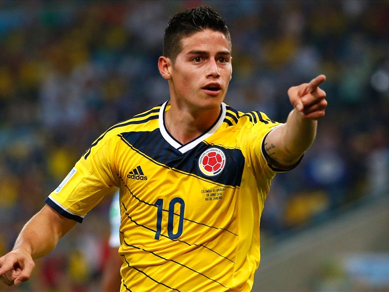 Real Madrid to unveil James Rodriguez on Tuesday