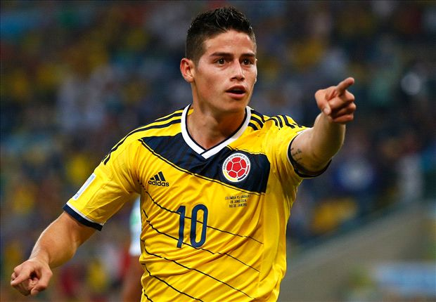 James volley versus Uruguay voted best goal of the World Cup
