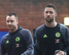 Cahill and Terry visit Mason in hospital