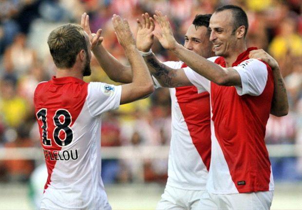 Résumé de match, Bordeaux-Monaco (4-1)