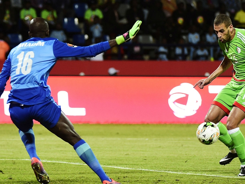 Senegal 2-2 Algeria: Slimani at the double as Desert Warriors bow out