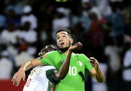 Algerije uitgeschakeld na remise