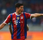 Lewandowski scores on Bayern debut