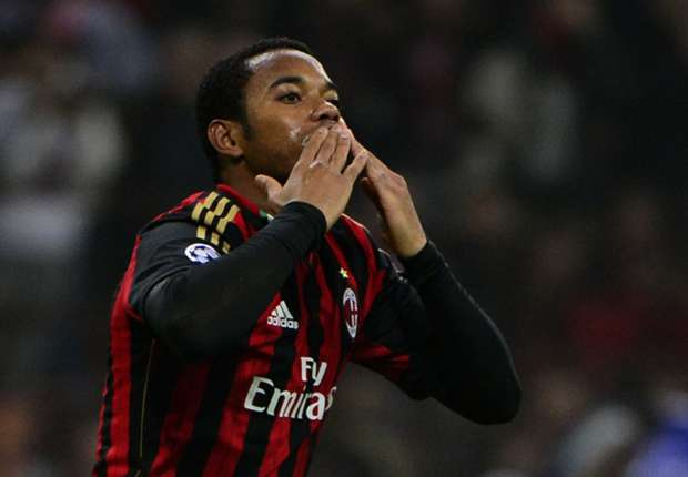 Robinho thanks Milan fans as exit nears