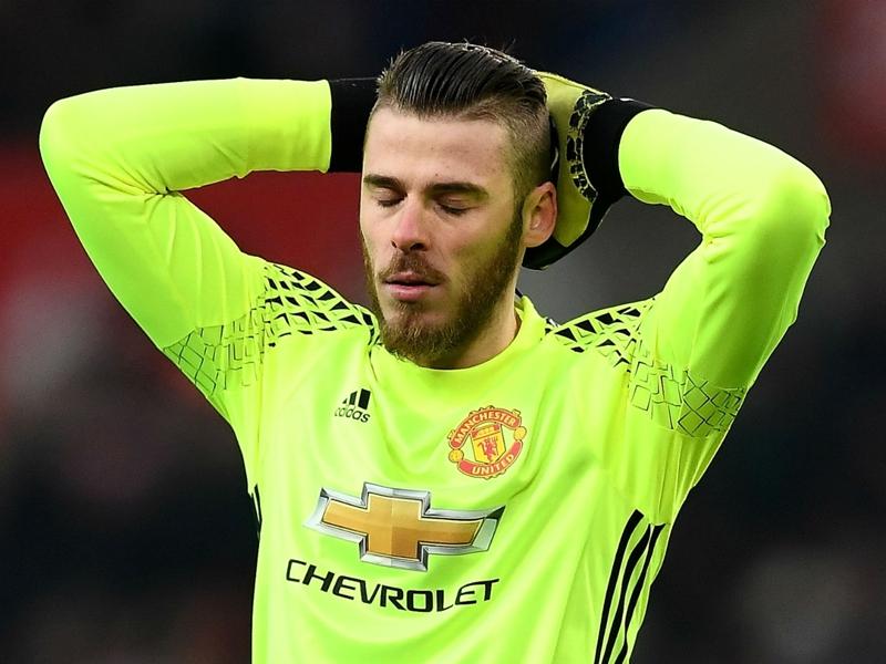 """De Gea : """"Je suis heureux de jouer à Manchester United"""""""