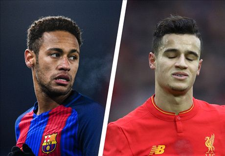 Neymar fails in Coutinho to Barca coup