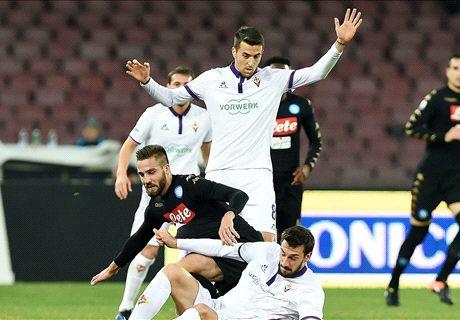 Napoli-Fiorentina LIVE! 1-0, Callejòn