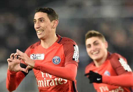 LIVE: Bordeaux vs Paris Saint-Germain