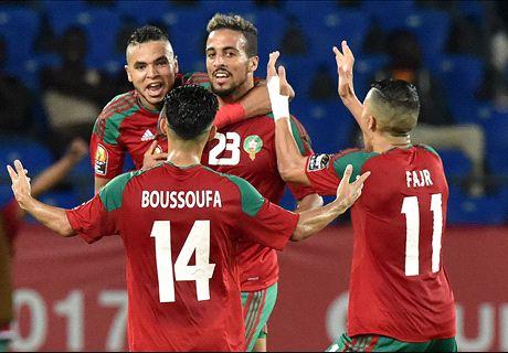 Marokko verslaat Ivoorkust en is door
