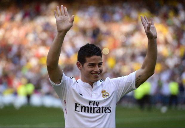 Real Madrid, James fait un triomphe